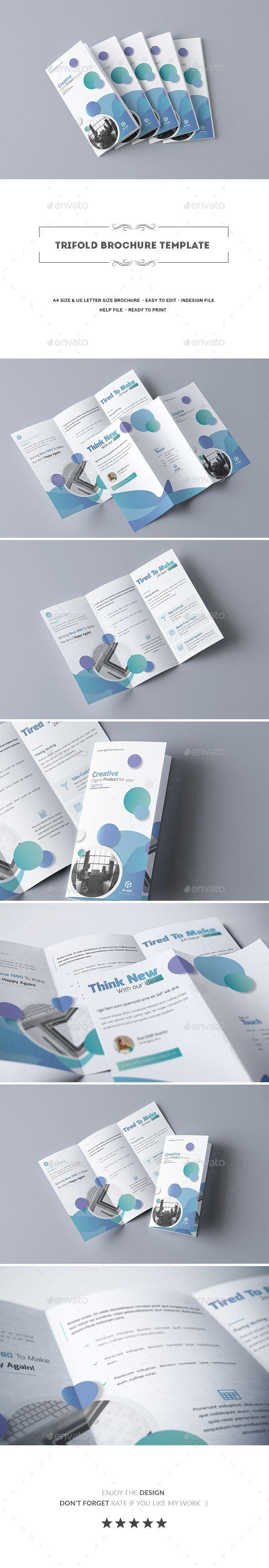 trifold brochure template pinterest brochure template corporate