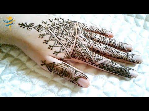 2 النقش الفاسي المغربي بسيط و انيق للمناسبات و الاعياد Youtube Simple Mehndi Designs Mehndi Simple Mehndi Designs