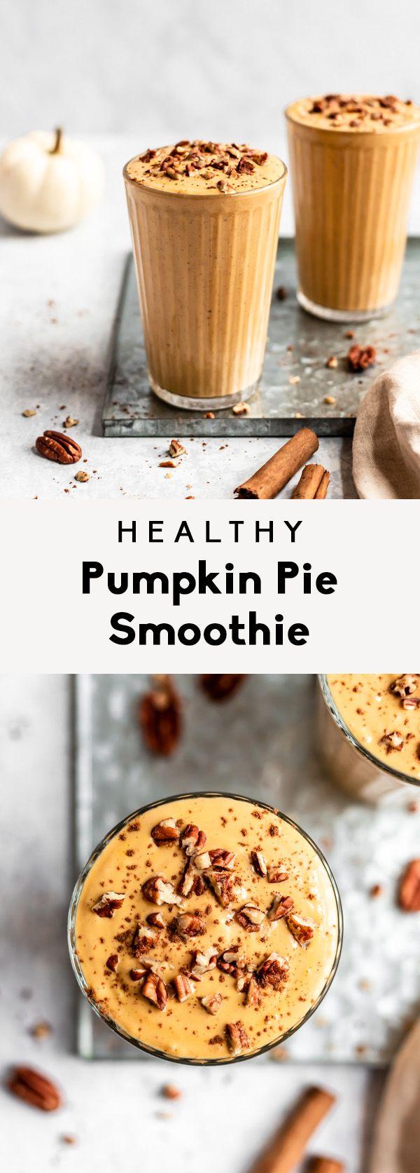Pumpkin Pie Smoothie   Ambitious Kitchen