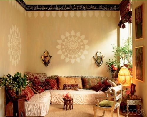 Living Room Mattress India Red Set Moroccan Style Seating Area Inspired Use Of Mattresses And Cushions To Create This Inviting Space I Have One Need More There S