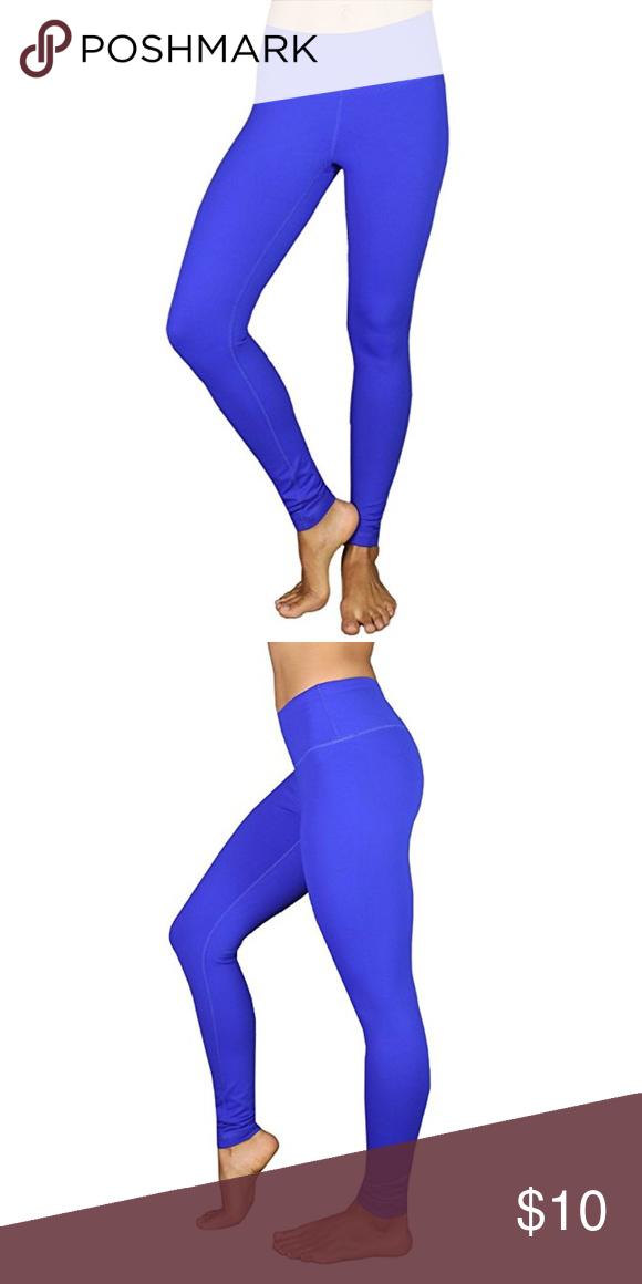7953fa43d2c 90 Degree High Waist Legging Royal Blue Color Great Condition 90 Degree By  Reflex Pants Leggings