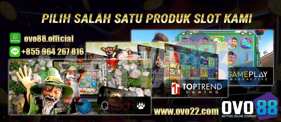 Pin Di Situs Judi Slot Game Slot Mesin Online Ovo88