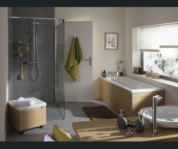 Salle de bains Naturel / Authentique Salle de bain Pinterest