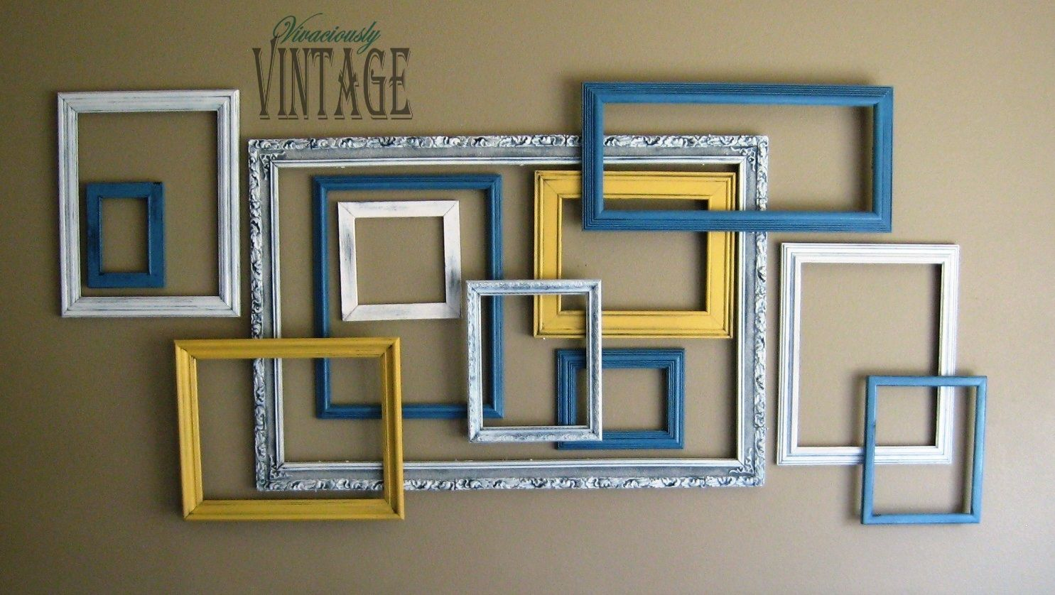 3d Layered Picture Frame Art Picture Frame Art Frames On Wall Gallery Wall Frames