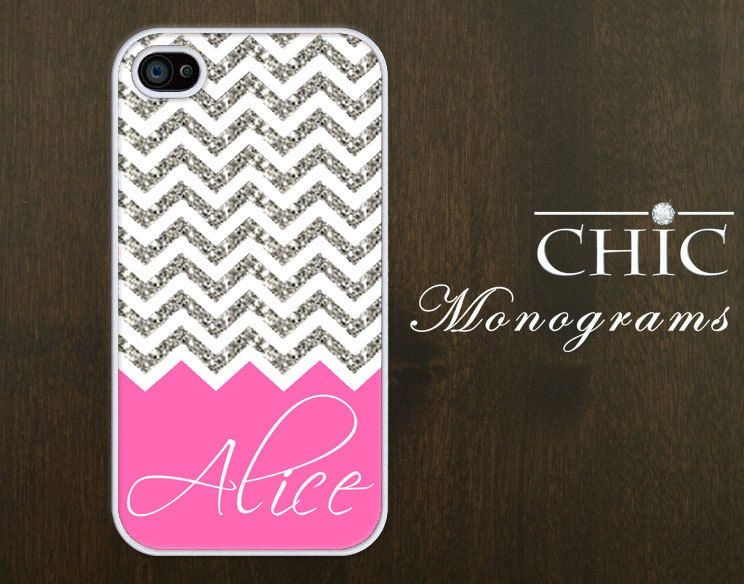 Personalized iPhone 4 case iPhone 4s case iPhone by ChicMonograms,