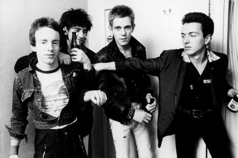 The Clash. Quadruple LOVE. So young! RIP Joe!