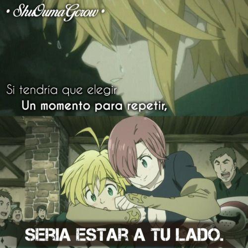 Anime Frases Anime Frases Sentimientos Shuoumagcrow Nanatsu No