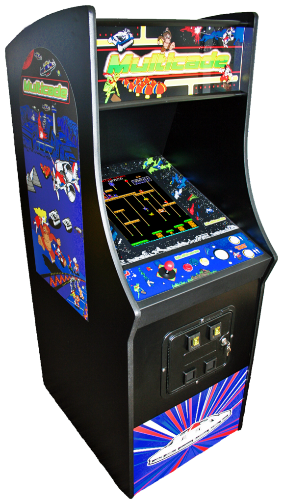 With STOOL !! NEW Ms PacMan // Galaga Video Game 6 games in 1