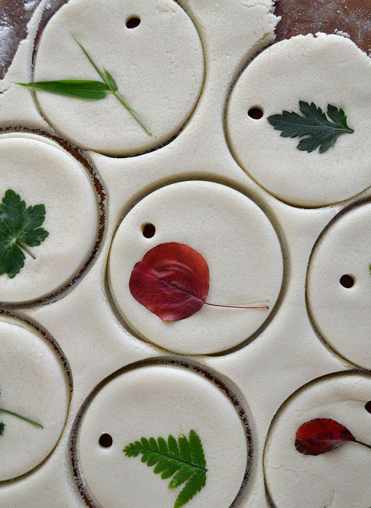 DIY brooddeeg / zoutdeeg herfst hangers (no bake #herfstknutselen