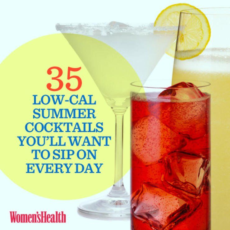 35 Low-Calorie Summer Cocktails You'll Want To Sip On