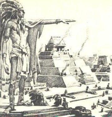 Dibujos De Piramides Mayas Aztecas Dibujos Del Medio Ambiente