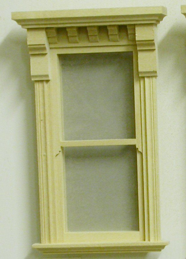 2 12 x 6 Victorian Window AC 1122 1100 Miniature