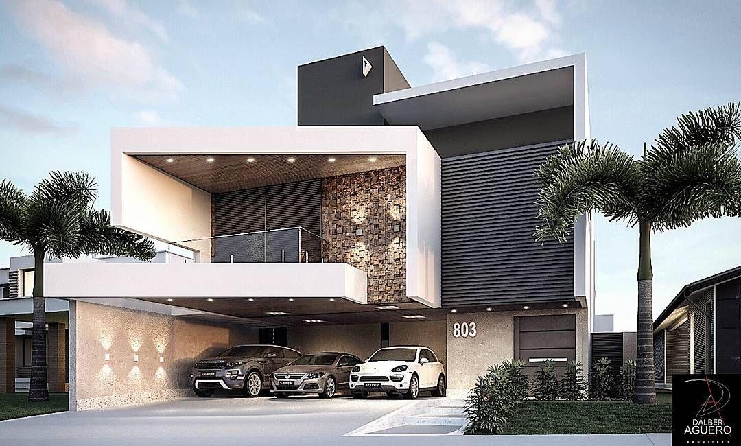 2 332 curtidas 29 coment rios d lber ag ero arquiteto for Casas modernas brasil