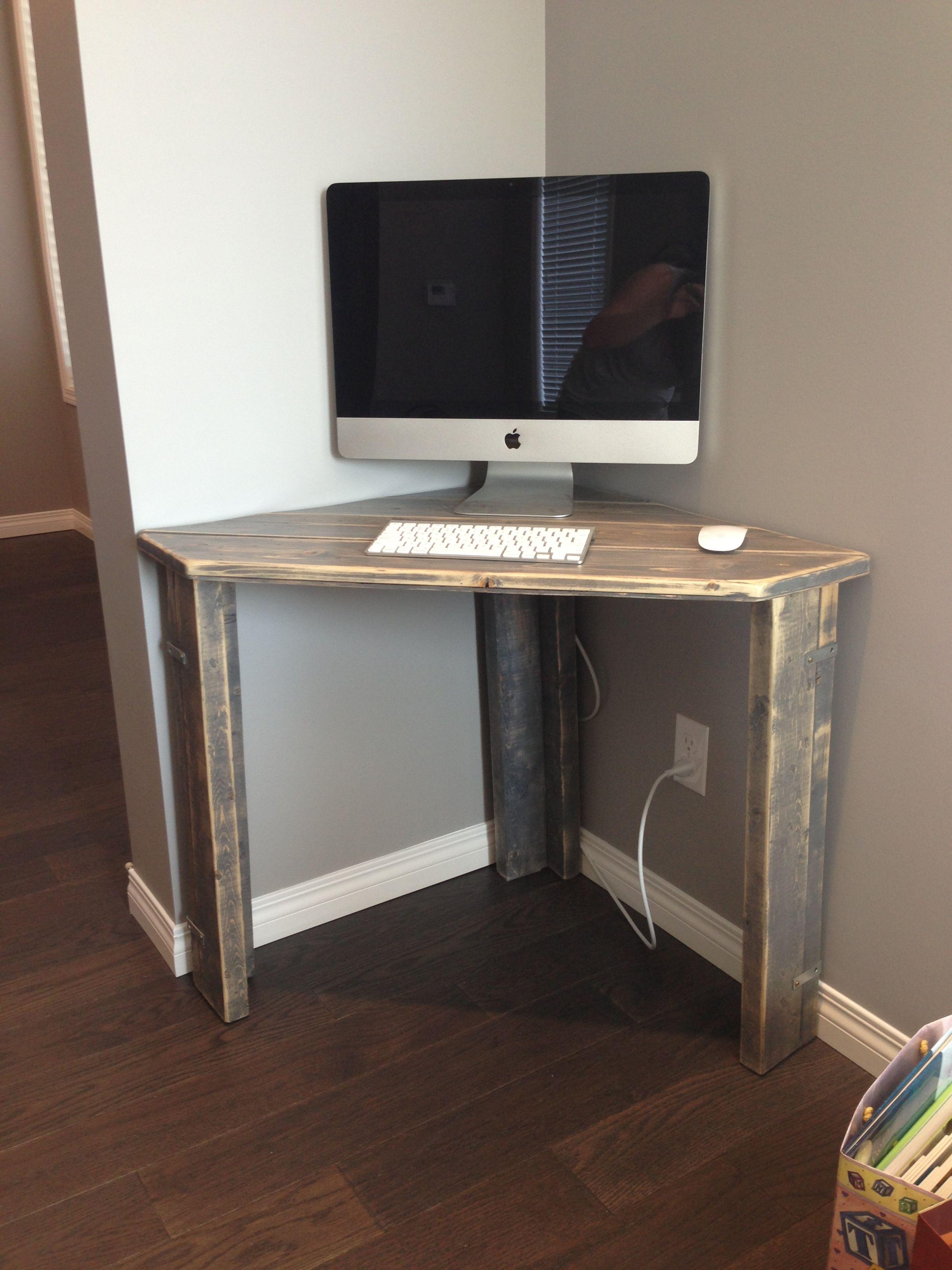 Diy L Shaped Desk Home Office Corner