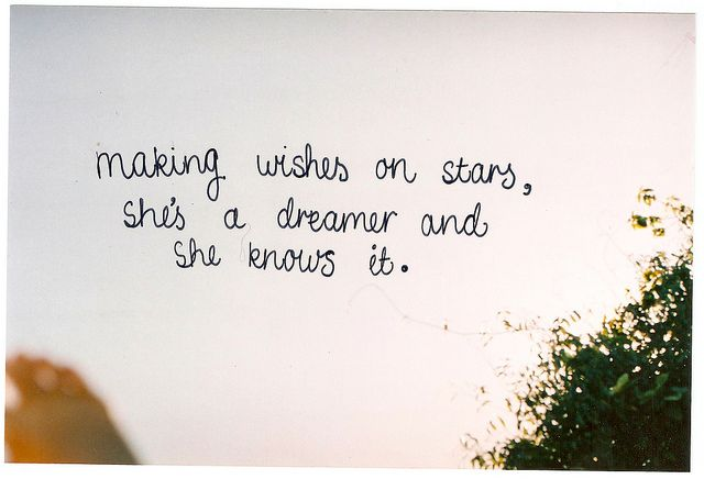 Making Wishes On Stars Shes A Dreamer And She Knows It