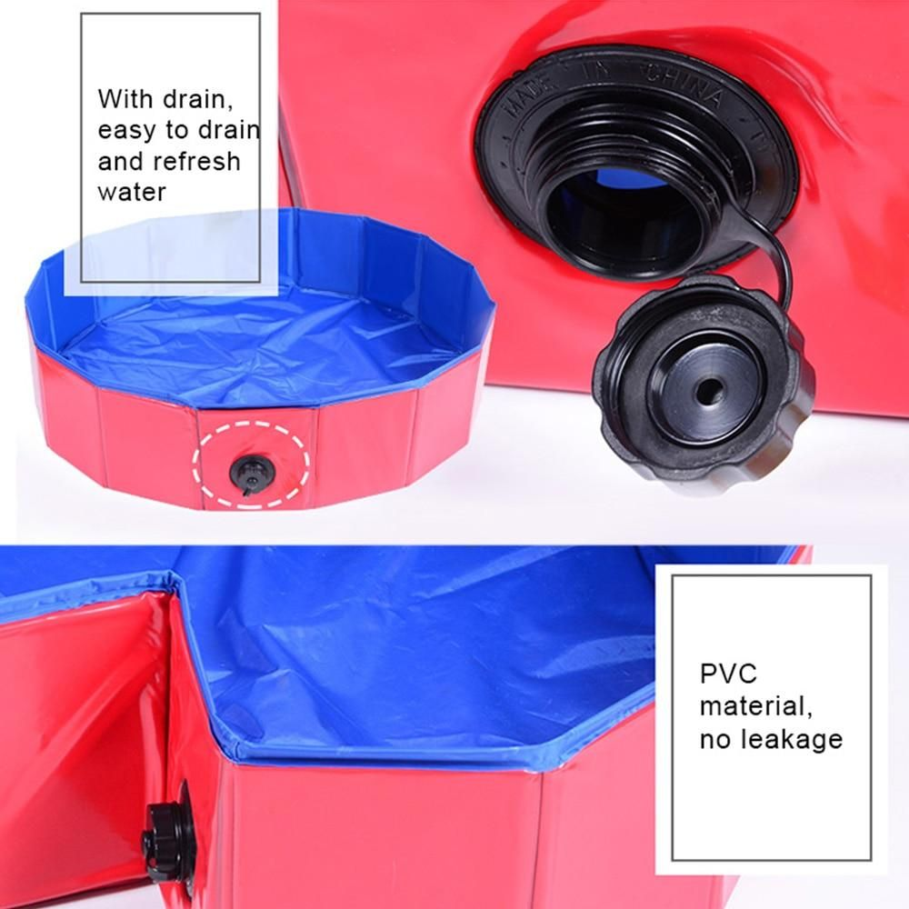 Dog Paddle Fun Portable Swimming Pools In 2020 Dog Pool Portable Playpen Portable Pools