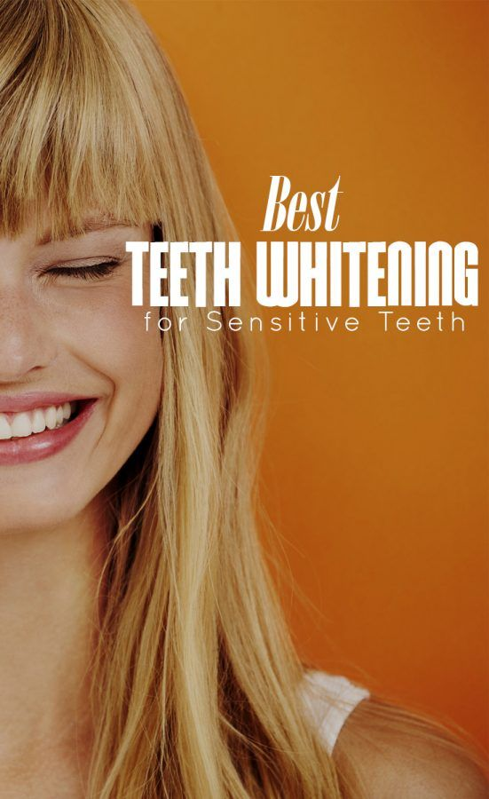 Best Teeth Whitening for Sensitive Teeth  Looking good comes at a cost. Women often go through great pains to pluck eyebrows, remove unwanted hair and strut around in high heels. Another beauty pain: teeth whitening.  Whitening your teeth is not as painless as it sounds. Strips, gels, mouthwashes and toothpastes often contain peroxide, which can…
