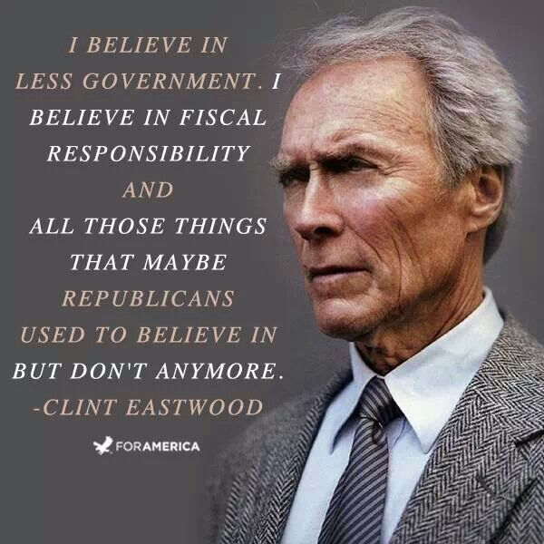 clint eastwood quotes | Clint Eastwood, Republicans | QUOTES