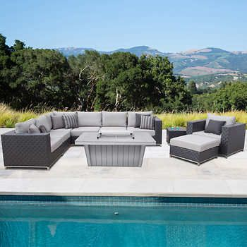 High Quality Soho 10 Piece Seating With Fire By Sirio