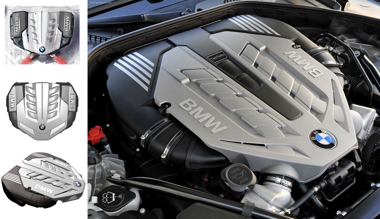 BMW N63 Engine Cover Design by Magna Steyr | engine covers