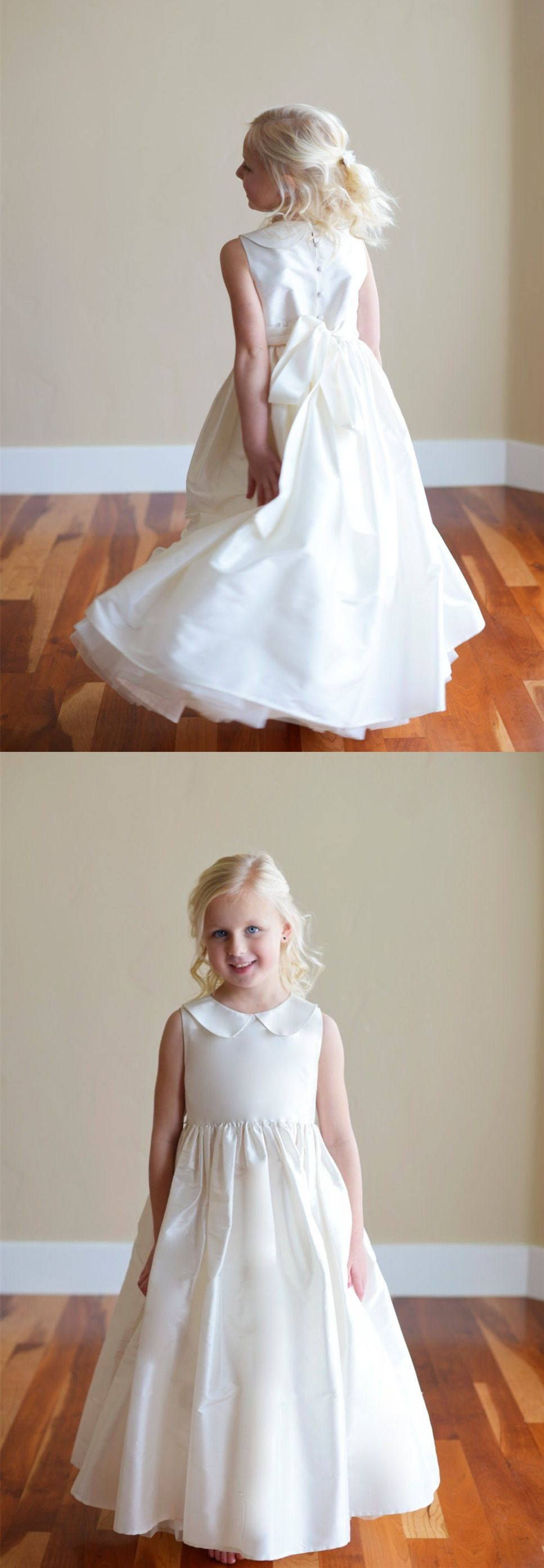 Flower girl dresses chic fashion wedding party dresses for girls