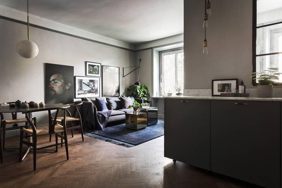 Dark And Moody Home Coco Lapine Design Scandinavian Interior Design Scandinavian Interior Beautiful Houses Interior
