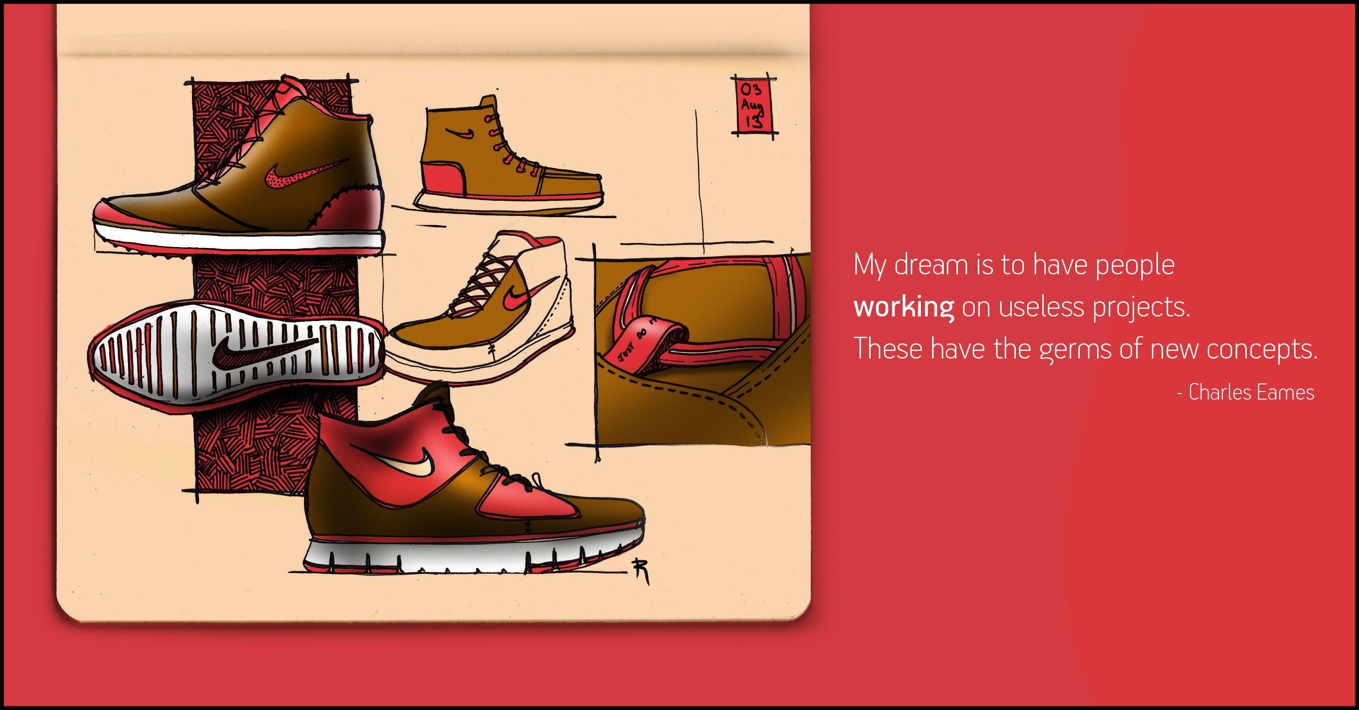 #Roshan #Hakkim #SketchBug #Nike #Boots #Shoe #Shoes #design