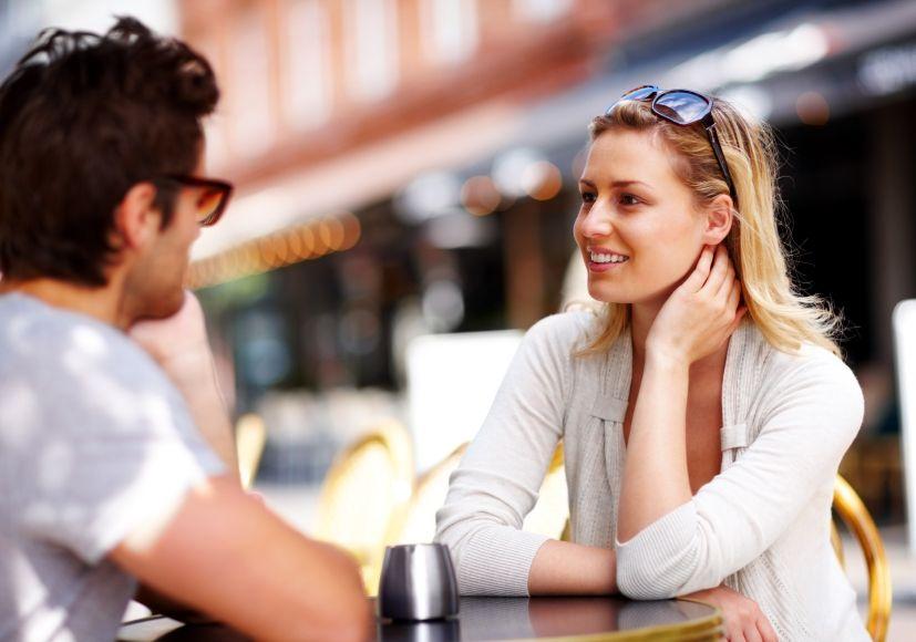 Mit frauen reden flirten