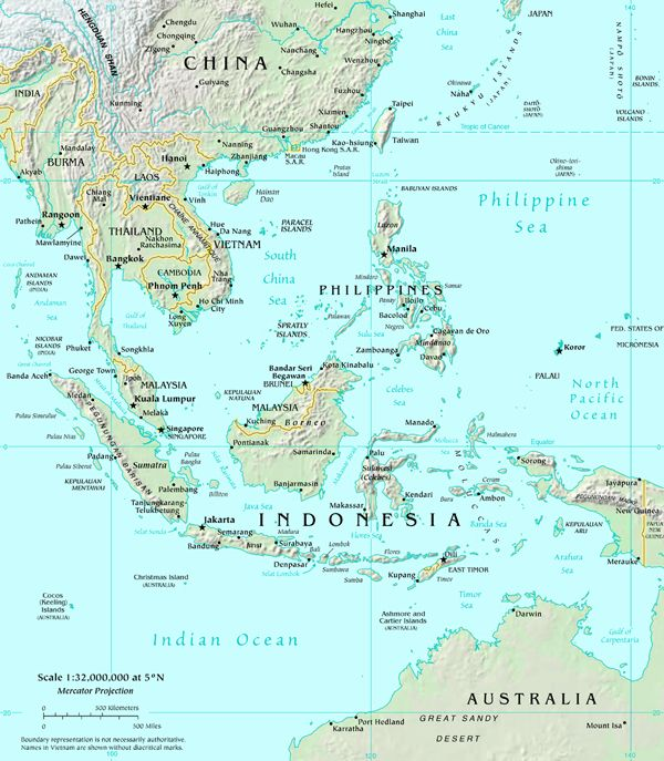 Major ports of the world map of south east asia malaysia major ports of the world map of south east asia gumiabroncs Images