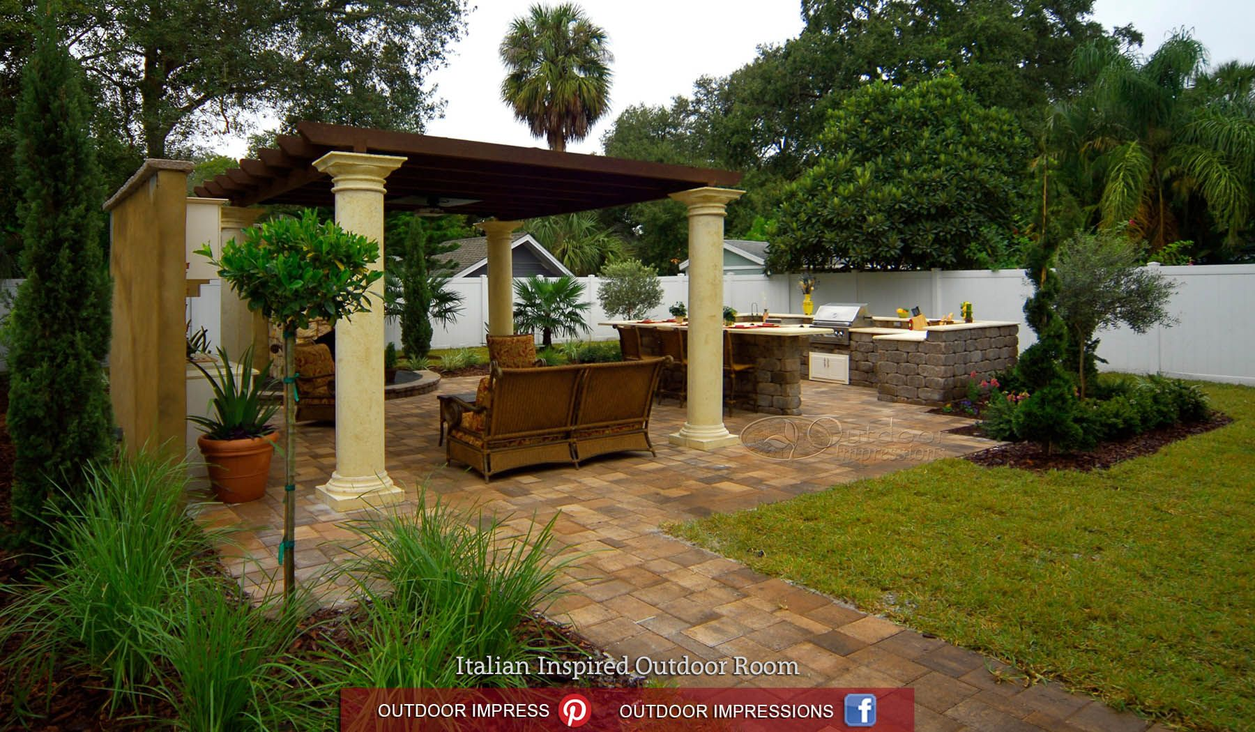 Diy outdoor kitchen kits  Yard Crashers  Outdoor Impressions Outdoor Kitchens Patios