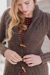 Ravelry: Solitude Jacket pattern by Mari Chiba