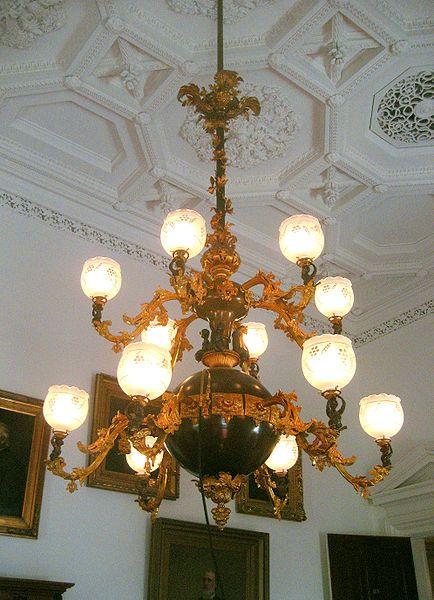 Electrified gaslight chandelier gaslights lamps pinterest electrified gaslight chandelier aloadofball Choice Image