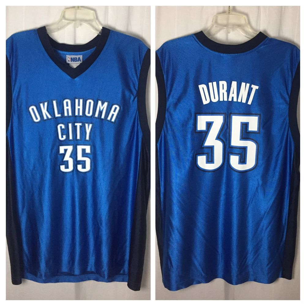 huge discount 2452a f191c 421 NBA OKC Oklahoma City Thunder #35 Kevin Durant ...
