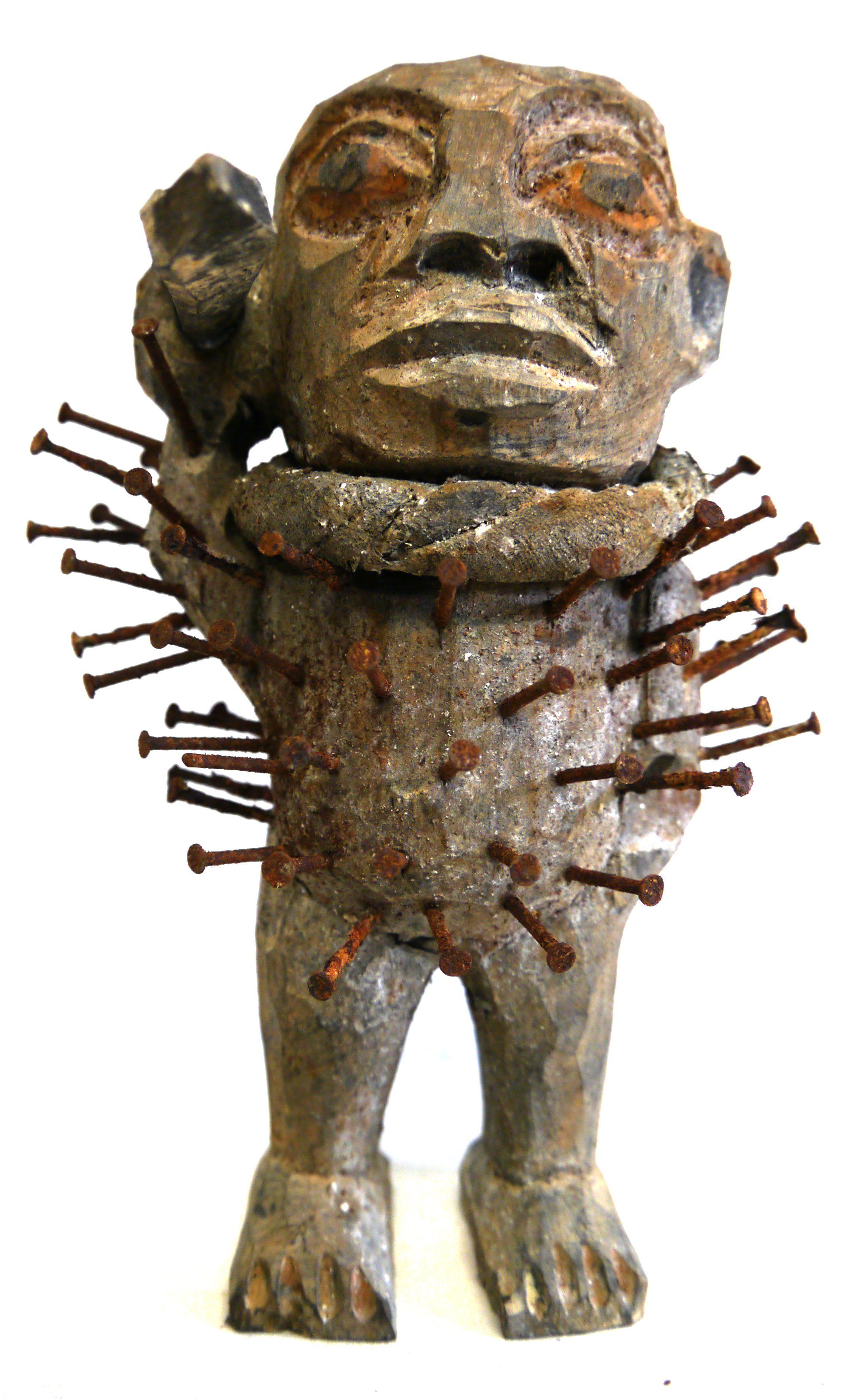 Entstehungszeit Nach 1945 Afrikanische Teke Maske Antiquitäten & Kunst kongo, Gabun