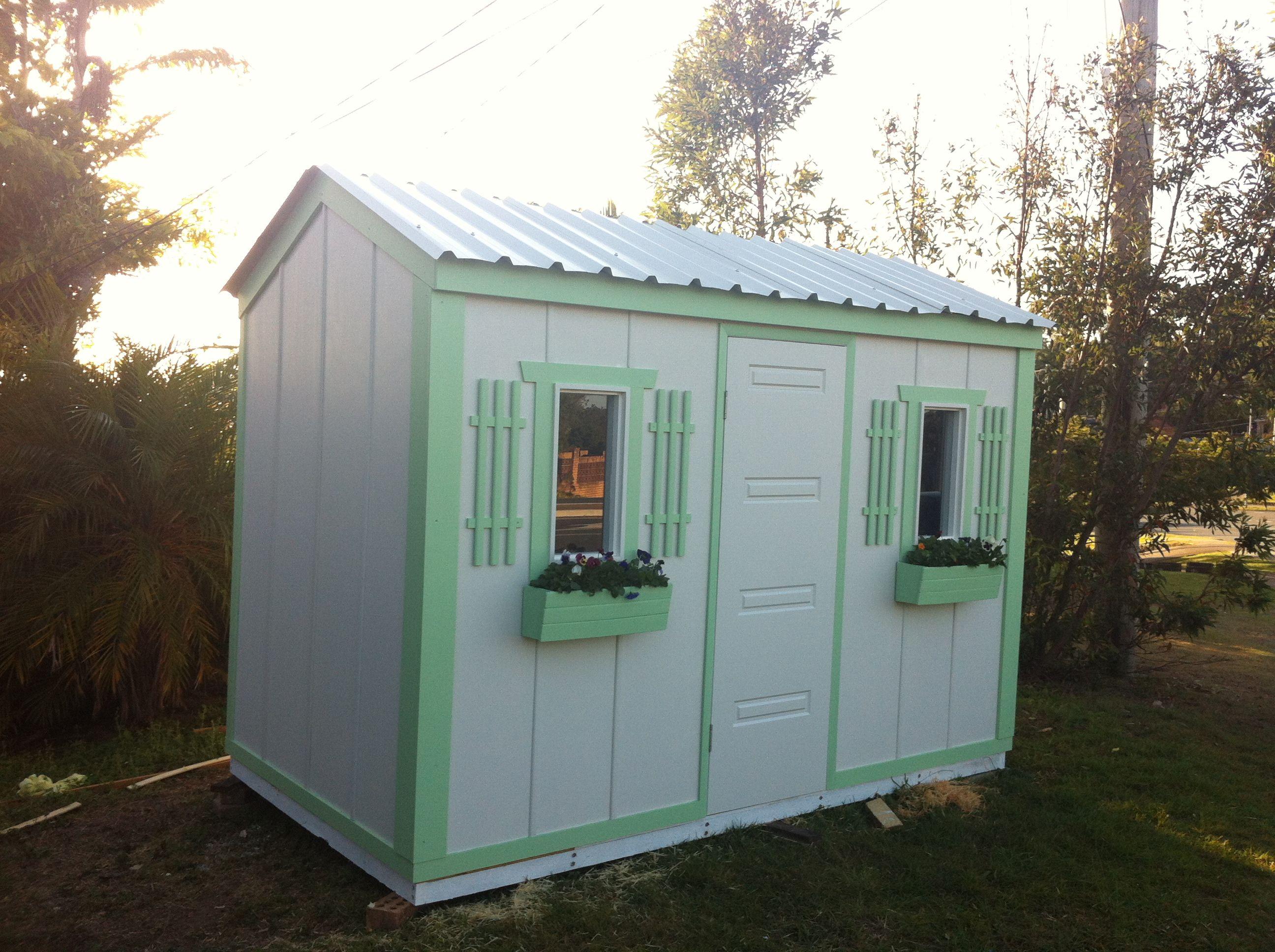 cute timber garden shed wwwgardenenvicom - Garden Sheds Brisbane
