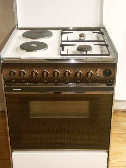 Cuisinière Mixte Four Pyrolyse Thermor Vintage - Cuisiniere four pyrolyse pour idees de deco de cuisine