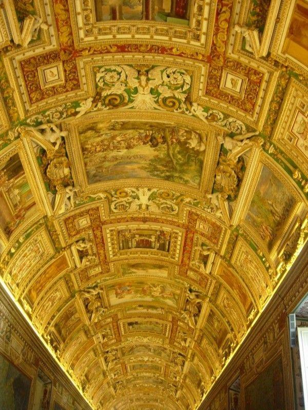 Inside Vatican Museum, Vatican City, Italy