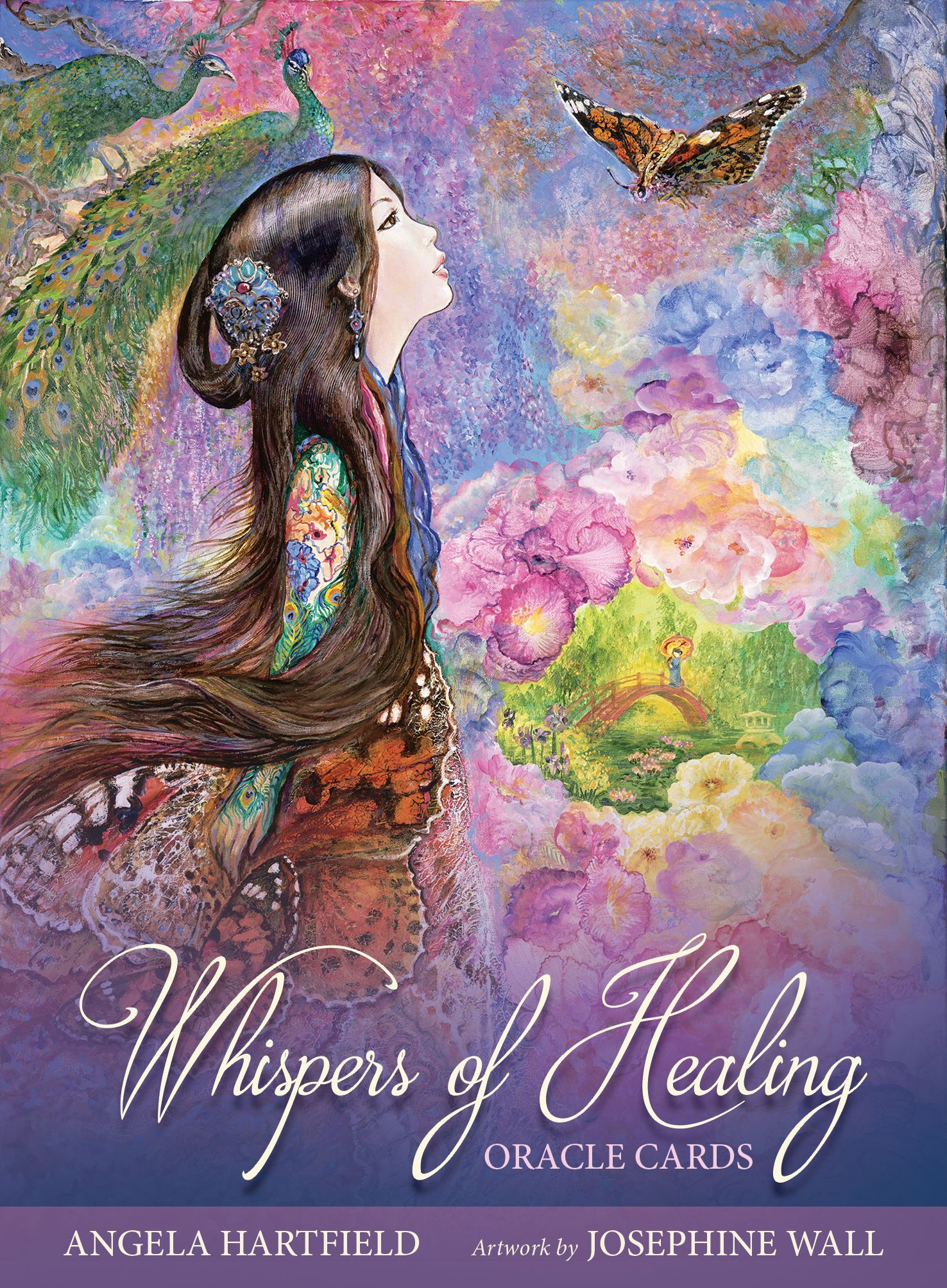 Coming This Winter Whispers Of Healing Oracle Cards From Angela
