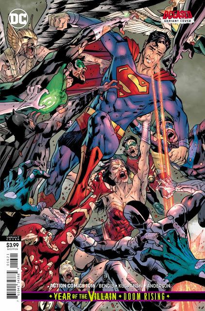Preview Action Comics 1016 Supergirl Comic Comics Dc Comics
