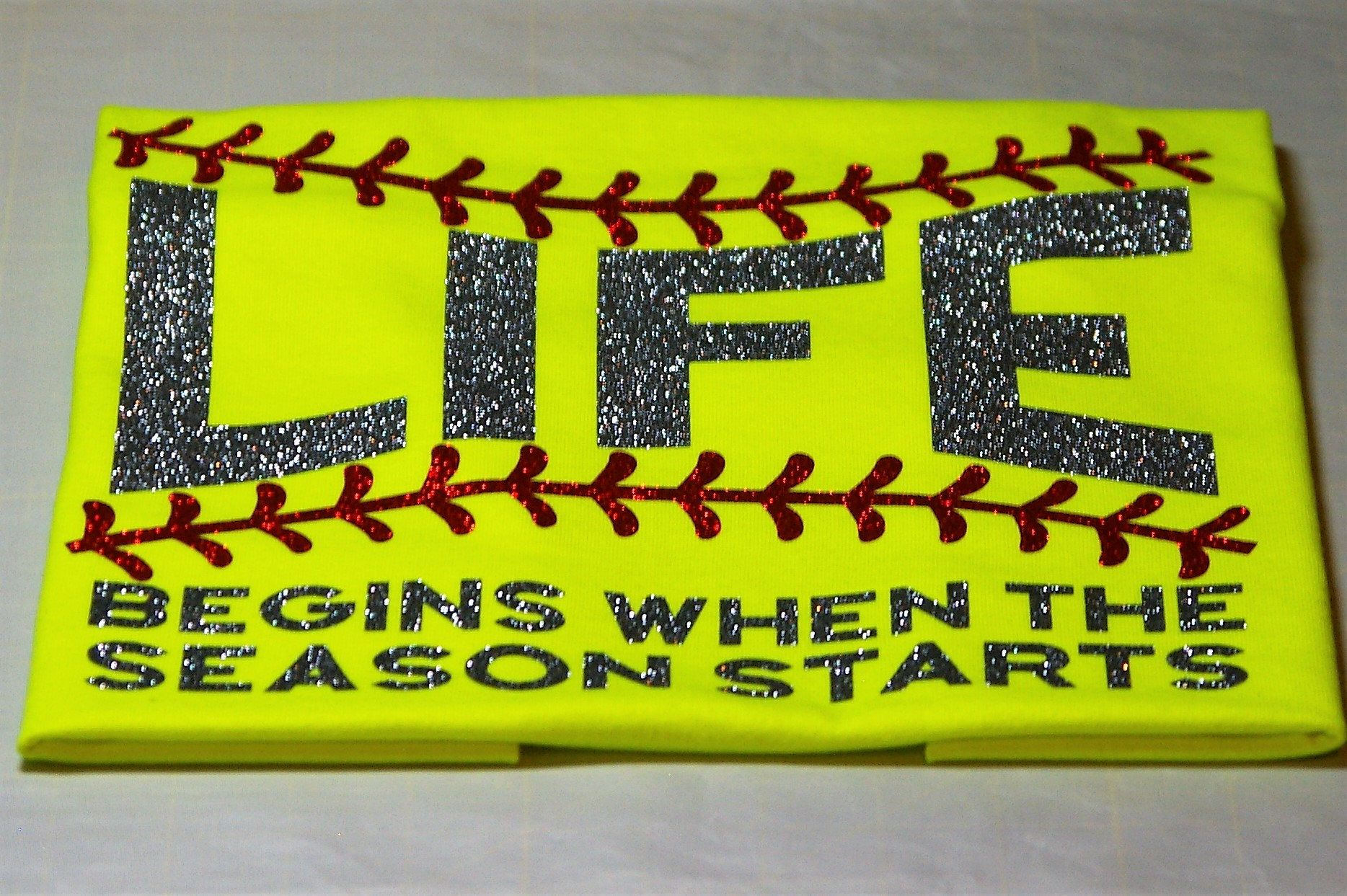 Life Begins when the Season Starts T-Shirt by SmallTownHeat on Etsy