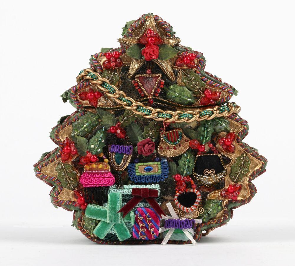 Mary Frances Christmas Tree Themed Folk