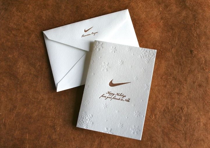 Nike Holiday Graphic Design Corporate Holiday Cards Design
