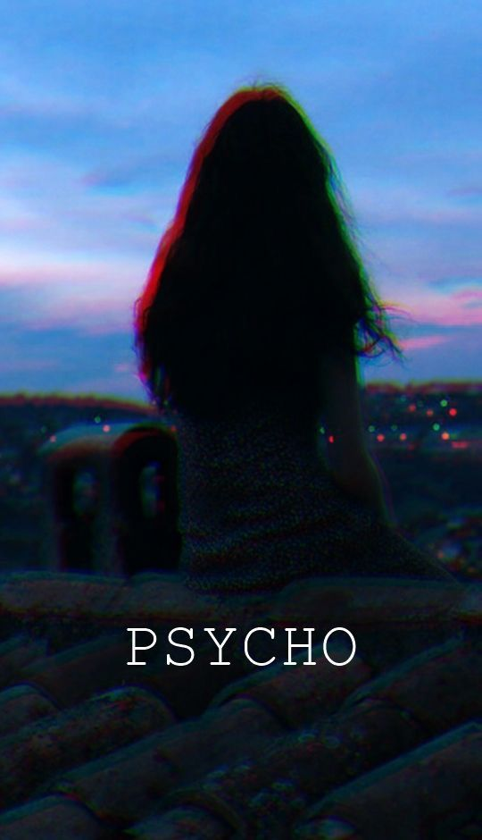 Maybe I M The One Who Is The Schizophrenic Psycho Psycho Wallpaper Dark Iphone Backgrounds Glitch Wallpaper