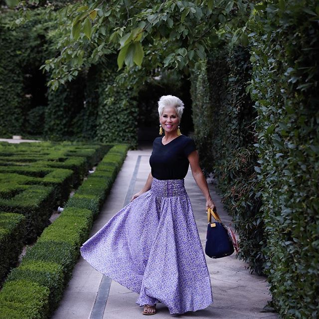 And so you see...it was meant to be! I had to TWIRL!! Read on my blog today, how I came across this in Spain! You won't believe how much it was!!!!!  . . . #twirl #twirling #maxi #spain #madrid #travel #traveloutfit #whattopack #mystyle #aboutalook #styleblogger #styleinfluencer #fashionblogger #stylefiles #styleatanyage #ootd #wiw #budgetfriendly #chicover50 #50plusandfabulous #over50style #fabover50 #ageisjustanumber #inagarden #instastyle #realoutfitgram #xoxo