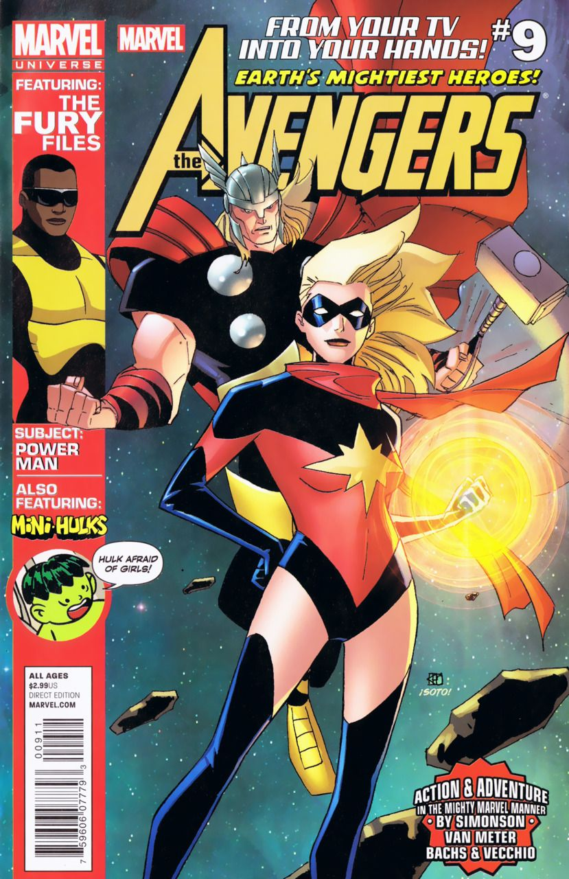 Avengers Earth's Mightiest Heroes #9 - The Skrull Skull / The Skies are Doomed (Issue)