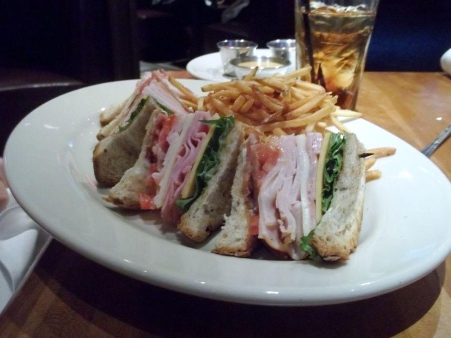 Attractive Club Sandwich At J. Alexanderu0027s In Palm Beach Gardens