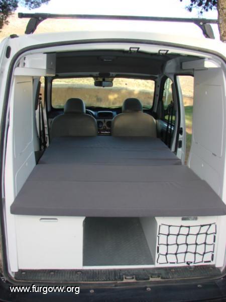 renault kangoo por fin termine mi furgo a ver que os. Black Bedroom Furniture Sets. Home Design Ideas