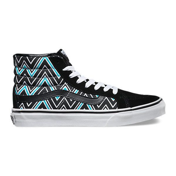 7c5f27d652e SK8-Hi Slim ( 60) ❤ liked on Polyvore featuring shoes