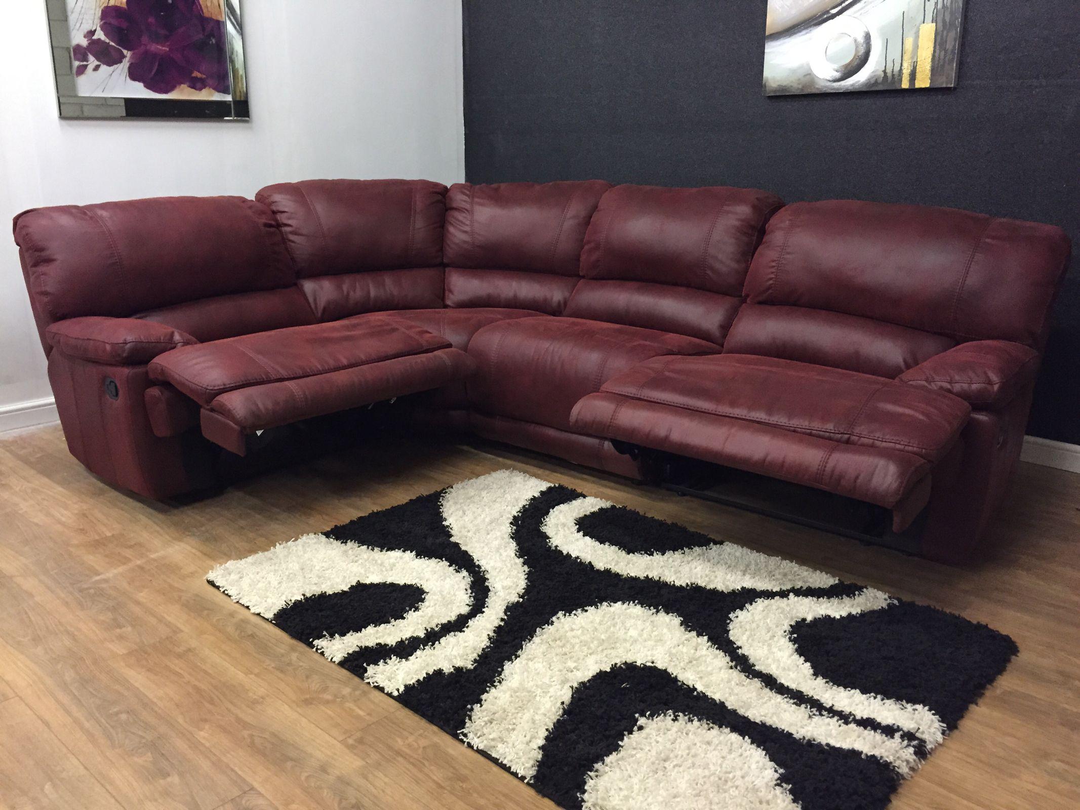 Harveys guvnor fabric corner reclining HOMES 2 FURNISH