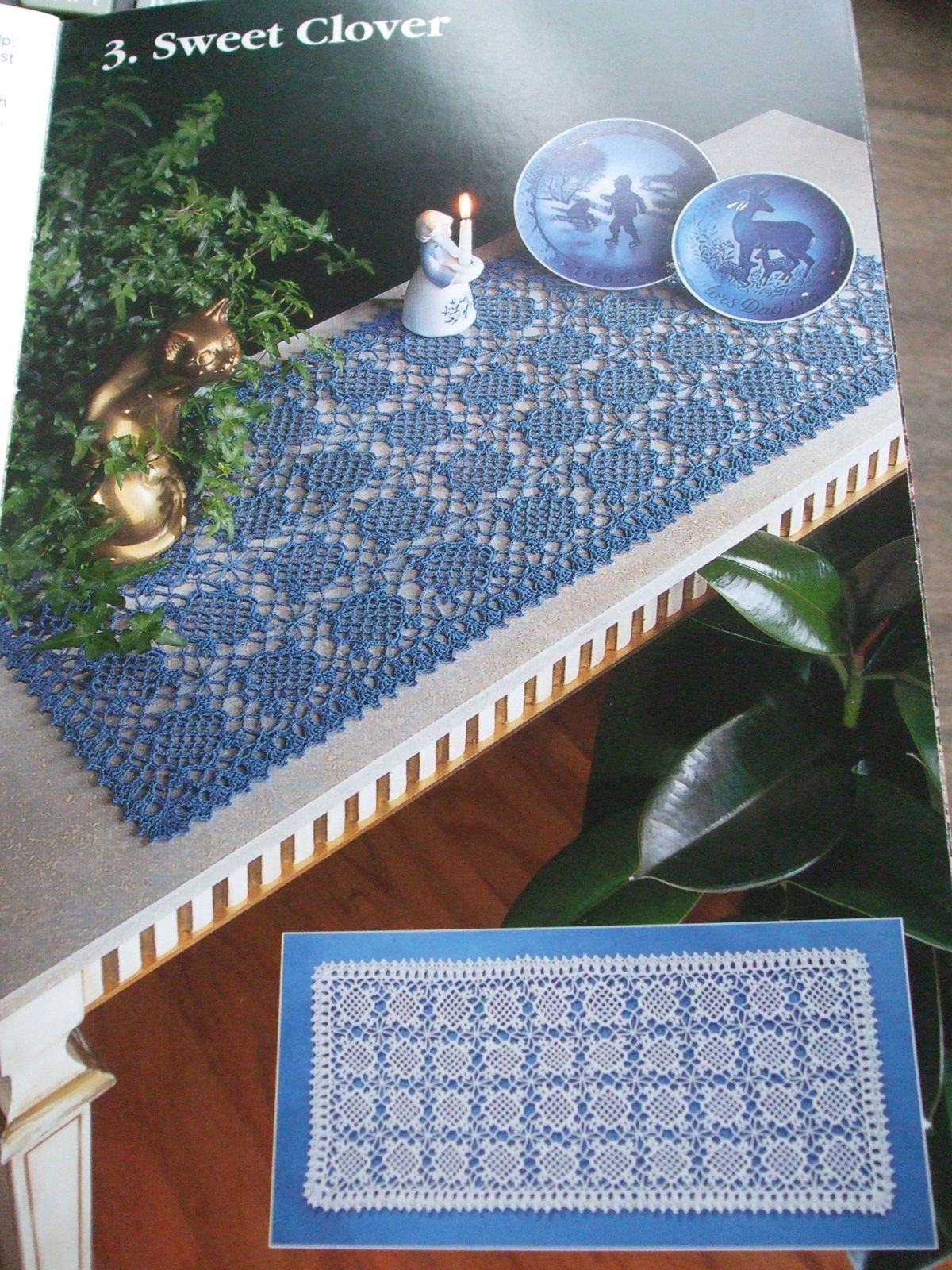 Second Silver South Maid Book 388 Crochet Patterns Tabletop